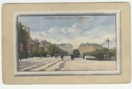 Budapest Freiheitsplatz Old Postcard Posted 1934 To Sušak PT200605 - Hungary