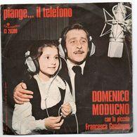"""Domenico Modugno(1975)  """"Piange Il Telefono  -  L'avventura"""" - Vinyl Records"""