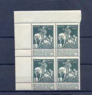 Nr. 88V1 + V2 Postgaaf  ** MNH 68 Côte  PRACHTIG In Blok Van 4 - Plaatfouten En Curiosa