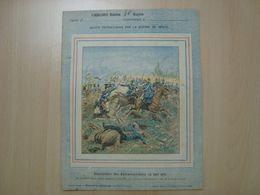 PROTEGE-CAHIER BATAILLE DE REZONVILLE 16 AOUT 1870 - Book Covers