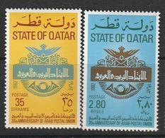 QATAR - N°840/1 ** (1982) - Qatar