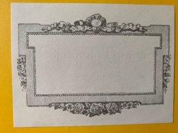 11430 - Etiquette Incomplète Légère Marque En Creux Coteaux Du Tricastin - Incompleto