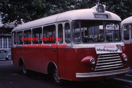 ReproductionPhotographie D'un Bus Ligne St-Berthevin à Laval En 1966 - Reproductions