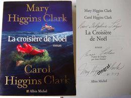 M.Higgins Clark - Signé / Hand Signed / Dédicace /autographe - Livres, BD, Revues