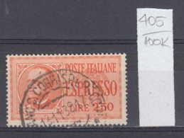 100K405 / 1933 - Michel Nr. 436 Used ( O ) Express Stamp , Italia Italy Italie Italien Italie - Usati