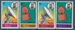 QATAR - N°673/6 ** (1976) Communications - Qatar