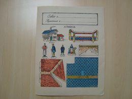 PROTEGE-CAHIER CONSTRUCTION D'UNE AUBERGE - Book Covers