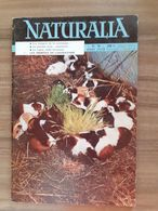 REVUE NATURALIA N° 59 Aout 1958 Le Lac Leman Animaux De Laboratoire Vigne Grotte De Lascaux Nacres & Camées - Tierwelt