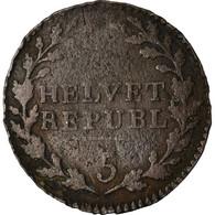 Monnaie, Suisse, 1/2 Batzen, 1799, Bern, TB+, Billon, KM:A6 - Zwitserland