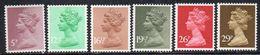 Q325 - GRAN BRETAGNA 1982 , Ordinaria Serie Unificato N. 1017/1022 ***  MNH  (2380A) - 1952-.... (Elizabeth II)