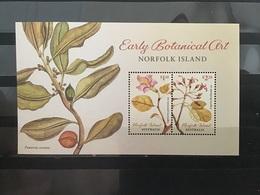 Norfolk Eiland / Norfolk Island - Postfris/MNH - Sheet Botanische Kunst 2020 - Isla Norfolk