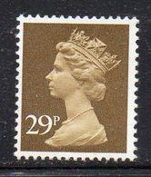 APR66 - GRAN BRETAGNA 1982 , Ordinaria Unificato 29 P. N. 1022 ***  MNH  (2380A) - 1952-.... (Elizabeth II)