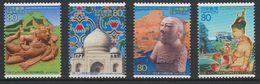 Japon Japan 2002 Emission Commune Sri Lanka Thailande Pakistan Inde India Relations Diplomatiques Taj Mahal Joint Issue - Joint Issues