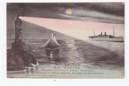 S.S. CANADA - Paquebot De La Cie C. Fabre Transformé En Navire Hopital Au Large Des Dardanelles - Steamers