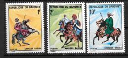 1970 - N° 297 à 299**MNH - Cavaliers - Bénin – Dahomey (1960-...)