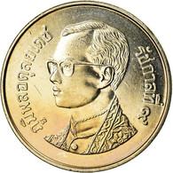 Monnaie, Thaïlande, Rama IX, Baht, 2001, FDC, Copper-nickel, KM:183 - Thaïlande