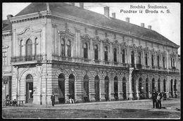 Croatia / Hrvatska: Slavonski Brod (Nagyrév / Brod), Brodska Stedionica 1908 - Croatia