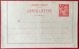 France, Entier Carte-Lettre N°433-CL1 - Neuf - (B3451) - Standard Postcards & Stamped On Demand (before 1995)