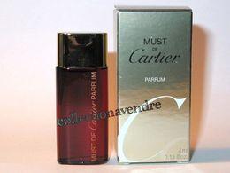 CARTIER : Must. Parfum 4 Ml. Version 2015. Parfait état - Modern Miniaturen (vanaf 1961)