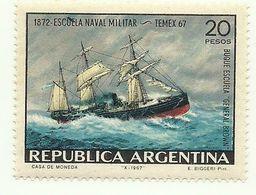 1967 - Argentina 801 Scuola Navale Militare - Militaria