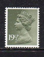 APR18 - GRAN BRETAGNA 1982 , Ordinaria Unificato 19 1/2 P. N. 1020 ***  MNH  (2380A) - 1952-.... (Elizabeth II)