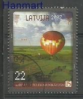 Latvia 2007 Mi 692 Cancelled ( SZE3 LTV692 ) - Transports