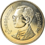 Monnaie, Thaïlande, Rama IX, Baht, 2001, SPL+, Copper-nickel, KM:183 - Thaïlande