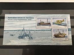 AAT - Postfris/MNH - Sheet Wyatt Earp Expeditie 2020 - Territorio Antártico Australiano (AAT)
