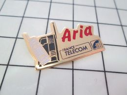920 Pin's Pins : BEAU ET RARE : Thème FRANCE TELECOM / APPAREIL TELEPHONE ARIA - France Telecom
