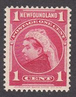Newfoundland 1897 Queen Victoria 1 Cent  SG84 MNH Superb - Newfoundland