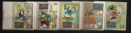 Saint-Marin 1970 N° 769 / 73 Inc ** Dessins Animés, Walt Disney, Pluto, Chien, Minnie, Souris, Donald, Canard, Inventeur - San Marino