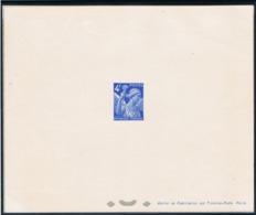 4f Iris Yvert 656 épreuve De Luxe Avec Rabat - 1939-44 Iris