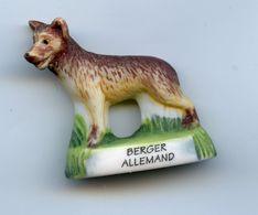 "FEVE - FEVES -  ""ANIMAUX"" - LE BERGER ALLEMAND - MATE - CHIEN CHIENS DE RACE - Animali"