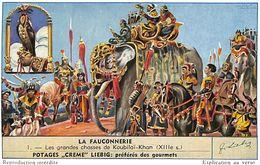 6 Chromos - Liebig - La Fauconnerie - S 1585 - Liebig