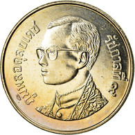 Monnaie, Thaïlande, Rama IX, Baht, 2001, SPL, Copper-nickel, KM:183 - Thaïlande