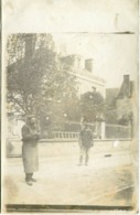ACCOLAY Par VERMENTON - CARTE PHOTO RARE - Mr LEMOULLE Devant Sa MAISON - - Vermenton