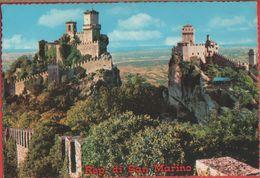 San Marino. Panorama Delle Tre Torri. Non Viaggiata - San Marino