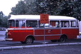 ReproductionPhotographie D'un Bus CFT - TUL à Laval En 1966 - Reproductions