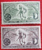 Luchtpost Poste Aérienne 1946 OBP PA/LP 12-13 (Mi 758-759) POSTFRIS /MNH ** BELGIE BELGIUM - Airmail