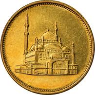 Monnaie, Égypte, 10 Piastres, 1992, SPL, Laiton, KM:732 - Egypt