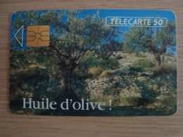 TELECARTE TELEPHONIQUE HUILE D'OLIVE ! 06/92 - Frankreich