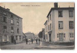 CPA 69 Cours Rue De Mardore - Cours-la-Ville