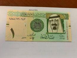 Saudi Arabia 1 Riyal Uncirc. Banknote 2016 - Saudi-Arabien