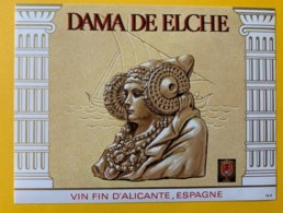 11438 - Dama De Elche Alicante - Etiquettes