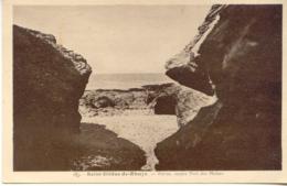 CPA - SAINT GILDAS DE RHUYS - PORTAS, ANCIEN PORT DES MOINES - Francia