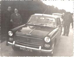 PHOTOS ORIGINALE - Lot De 2 Photos - Peugeot 404 (8,5 * 11 Cm) - Fiat  ( 7 * 10 Cm) - Cars