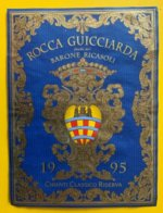 11446 -  Rocca Guicciardi Feudo Del Barone Ricasoli Chianti Classico Riserva 1995 - Otros