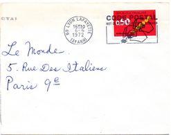 RHONE - Dépt N° 69 = LYON LAFAYETTE (3e ARR) 1972 = FLAMME CONCORDANTE = SECAP Illustrée  'CODE POSTAL / MOT DE PASSE ' - Postleitzahl