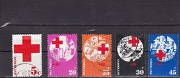 Netherlands 1972 - NVPH 1015-1019 Used - Period 1949-1980 (Juliana)