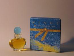 BEVERLY-HILLS : Wings Extraordinary. Eau De Toilette 3.5 Ml. Version 1992. Parfait état - Modern Miniaturen (vanaf 1961)